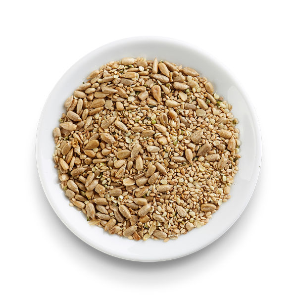 Toasted Sunflower, Sesame and Hemp Mix