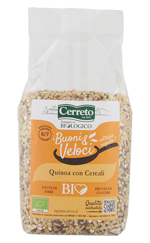 Organic Quinoa and Grains